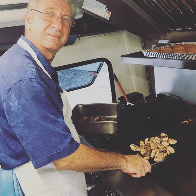 Theo is the best #souvlaki cook we know!