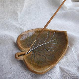 Phlomis Leaf Incense Holder