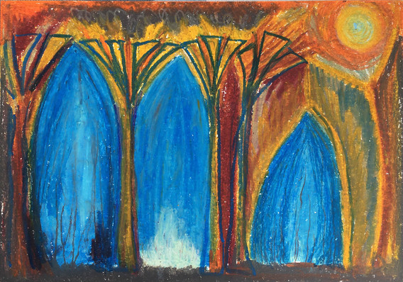 Three Arches and a Sun (2020)