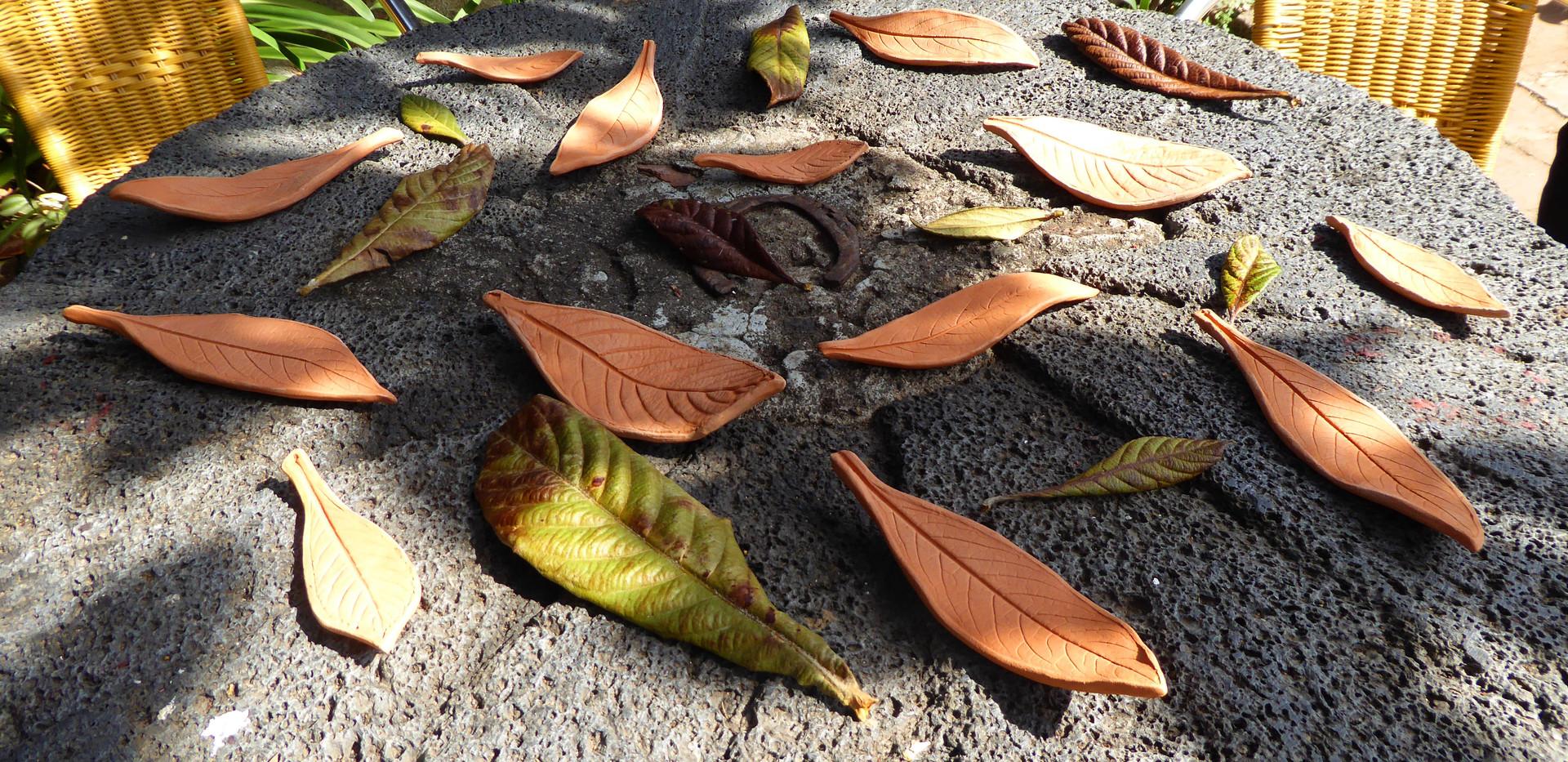 Ceramic Leaves (2021)