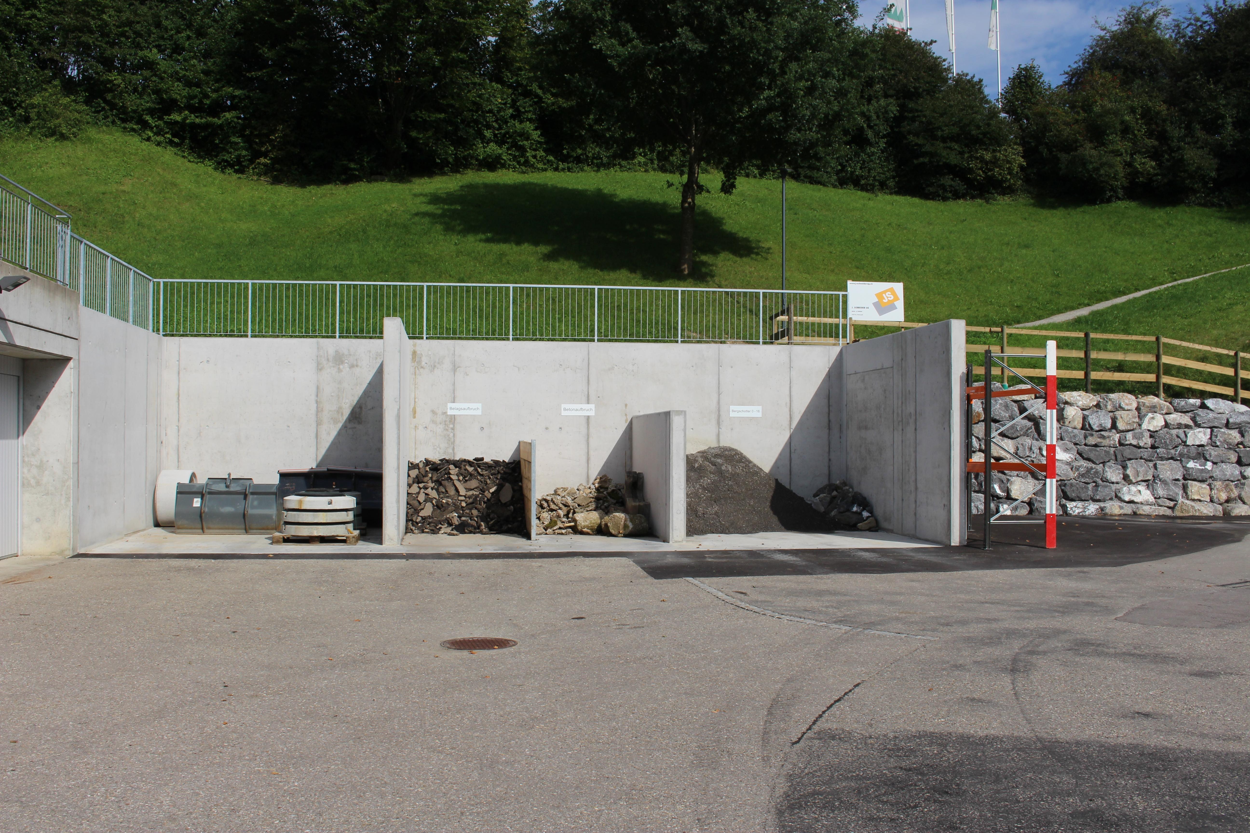 Materialboxen, Bauamt Neckertal