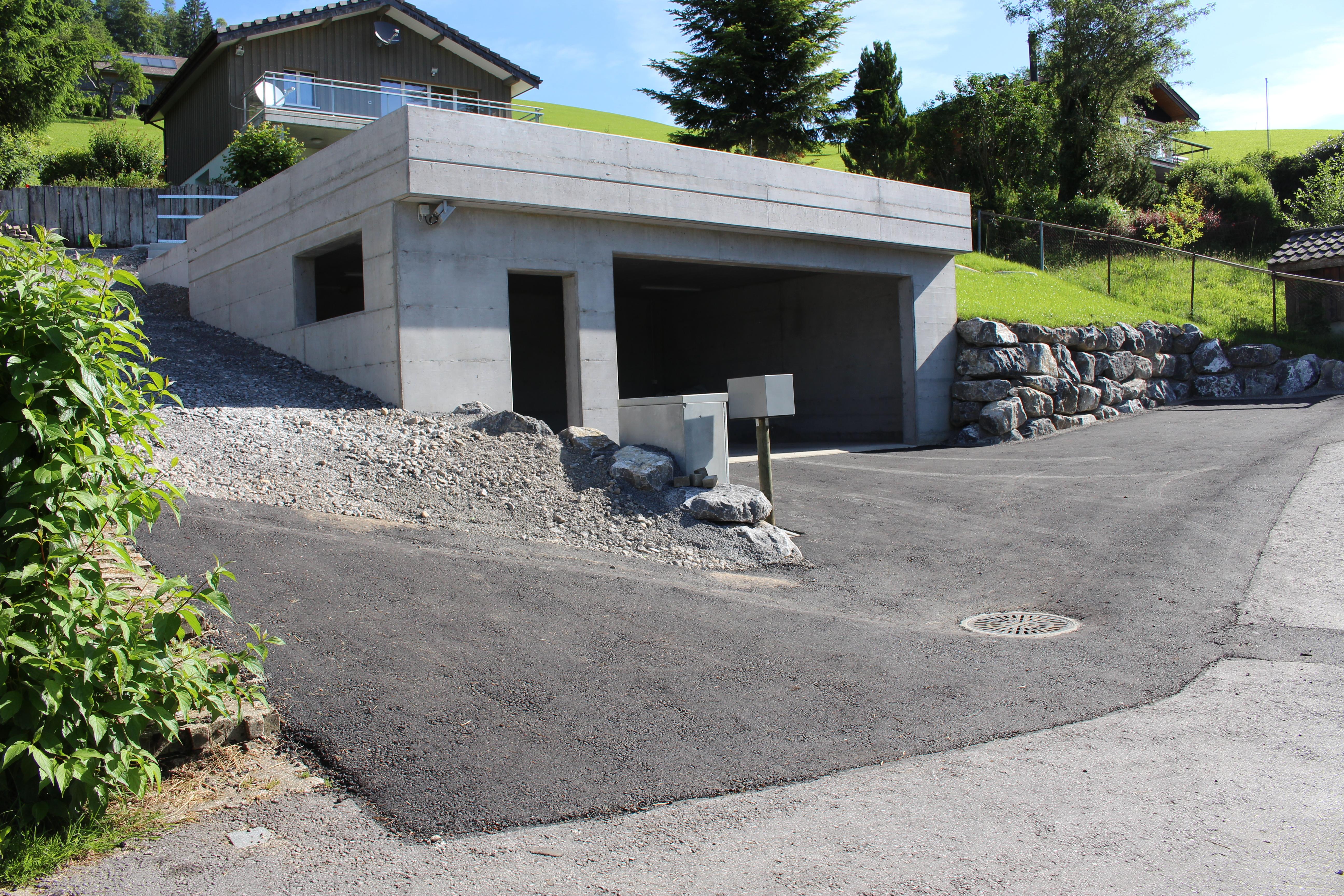Garagen Neubau, Düsel