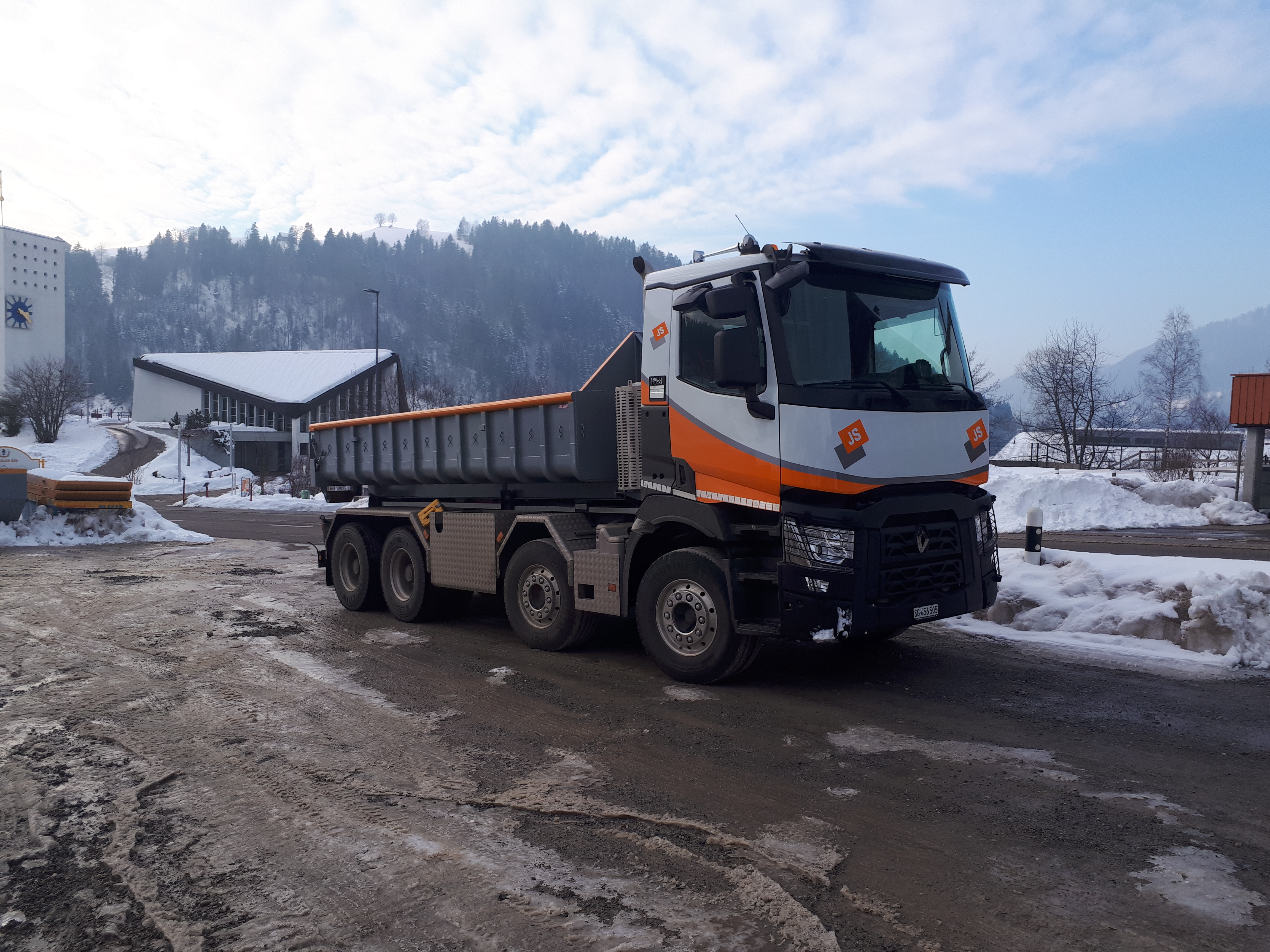 Renault Trucks C 460 8x4