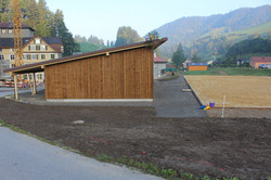 Pferdestall und Reitplatz Hufschmid
