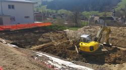 Aushub EFH Moesch, St.Peterzell