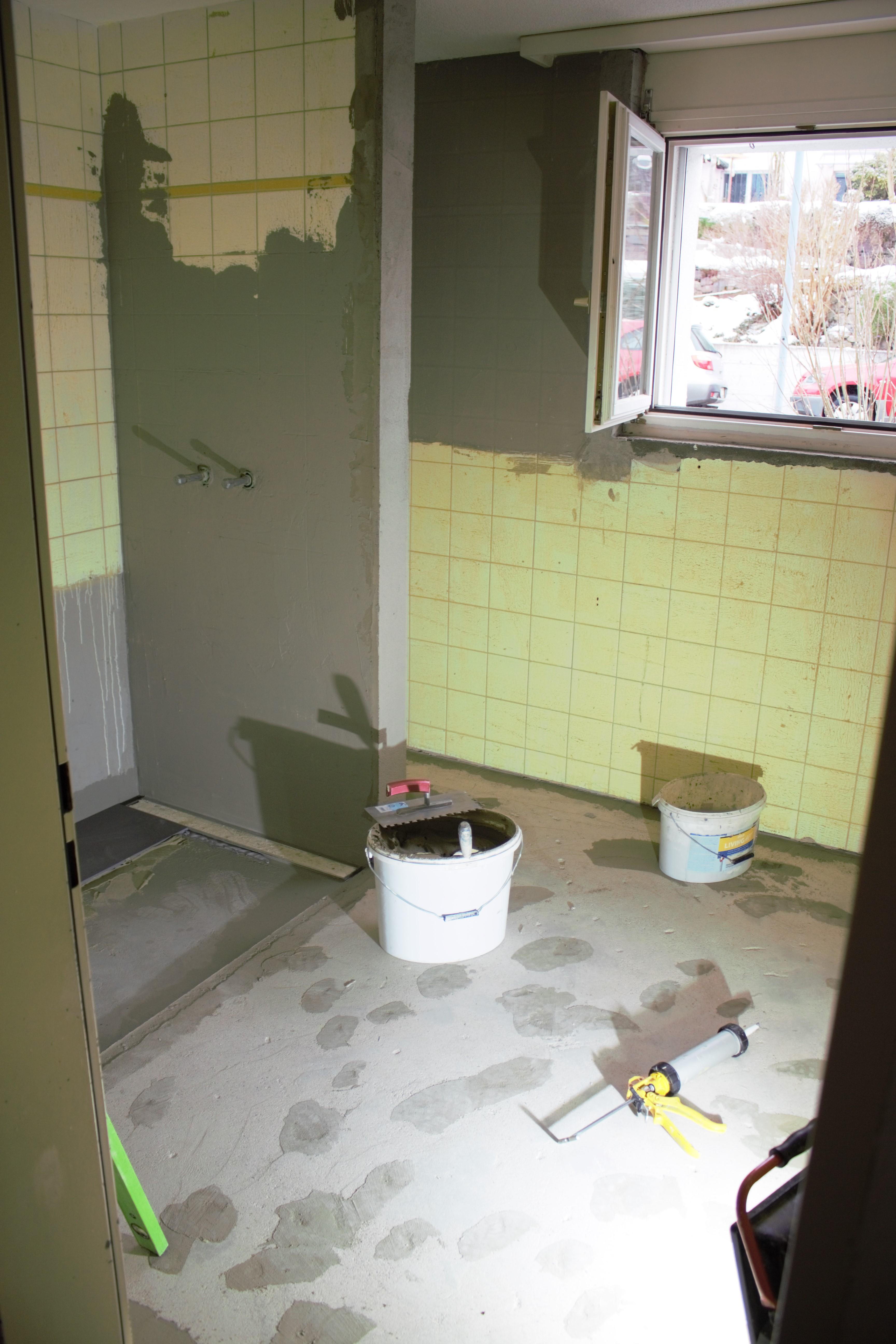 Wohnungs-Sanierung, St.Peterzell