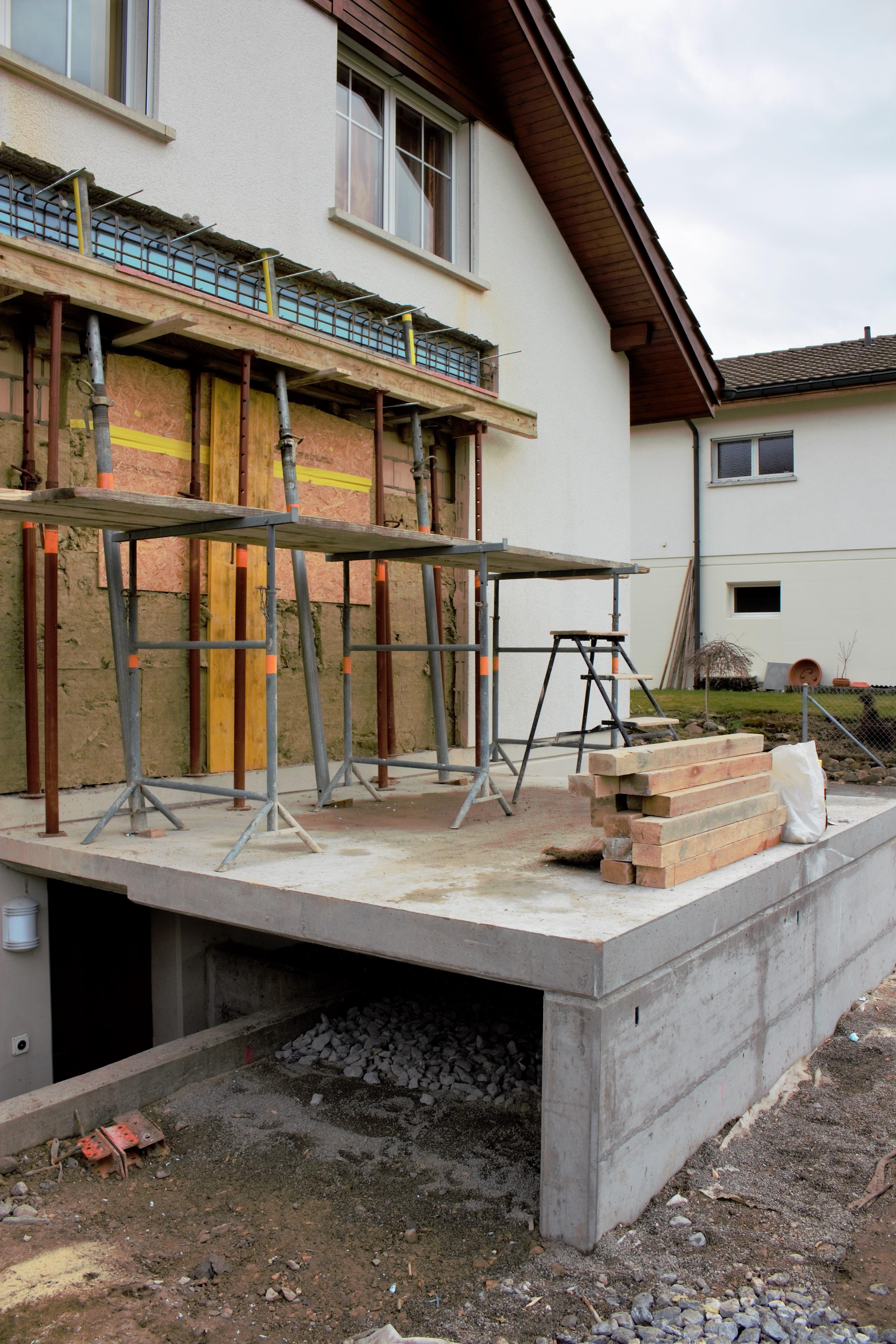 Küchenanbau Bischof, Schönengrund