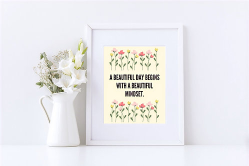 """A Beautiful Day"" Digital Wall Art"