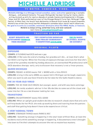 Copy of TV Writing One Pager - MICHELLE ALDRIDGE  (1).jpg