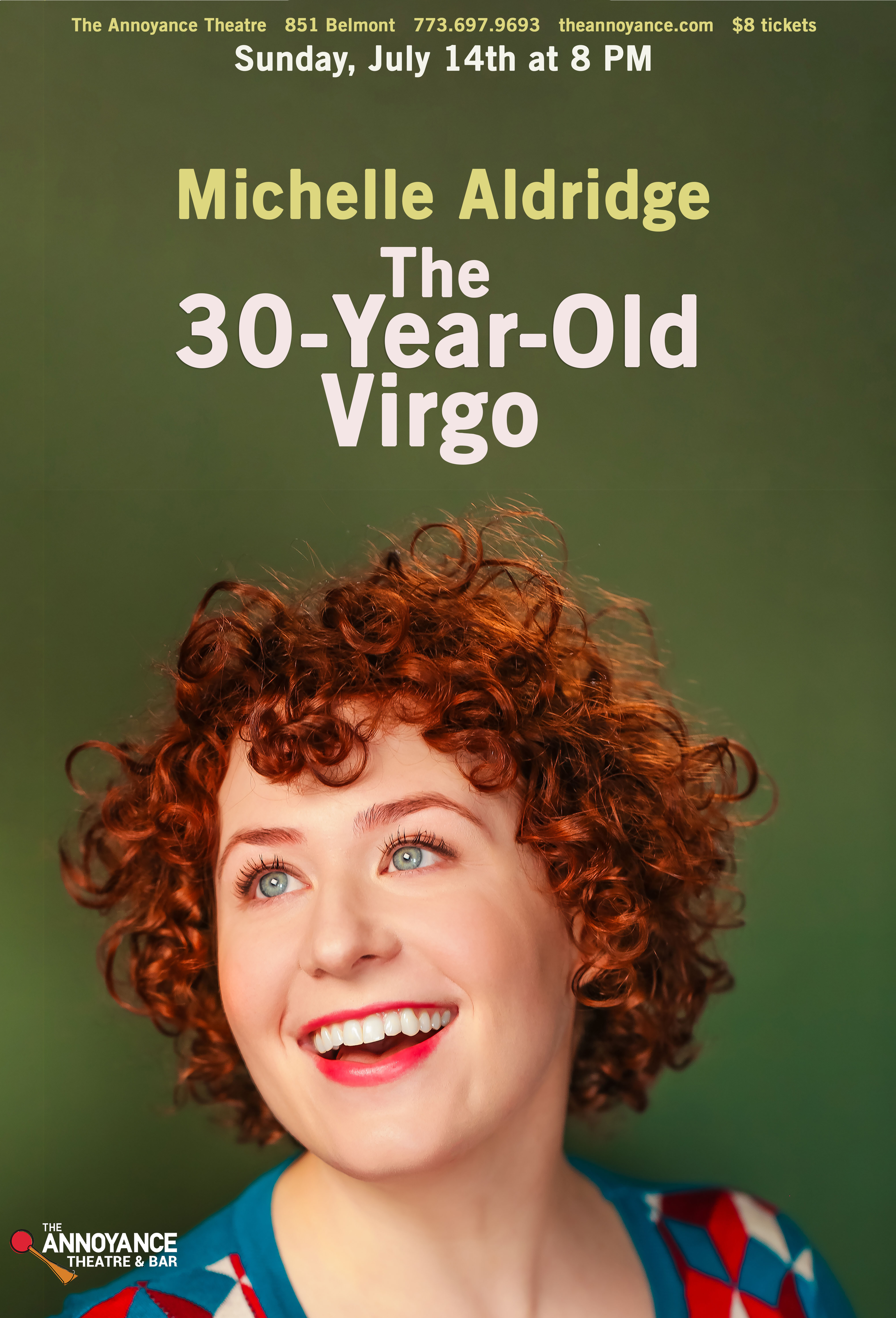 Annoyance - The 30-Year-Old Virgo Postca