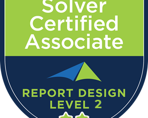 New Solver Certification