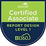 Solver BI360 Certified Associate - Repor