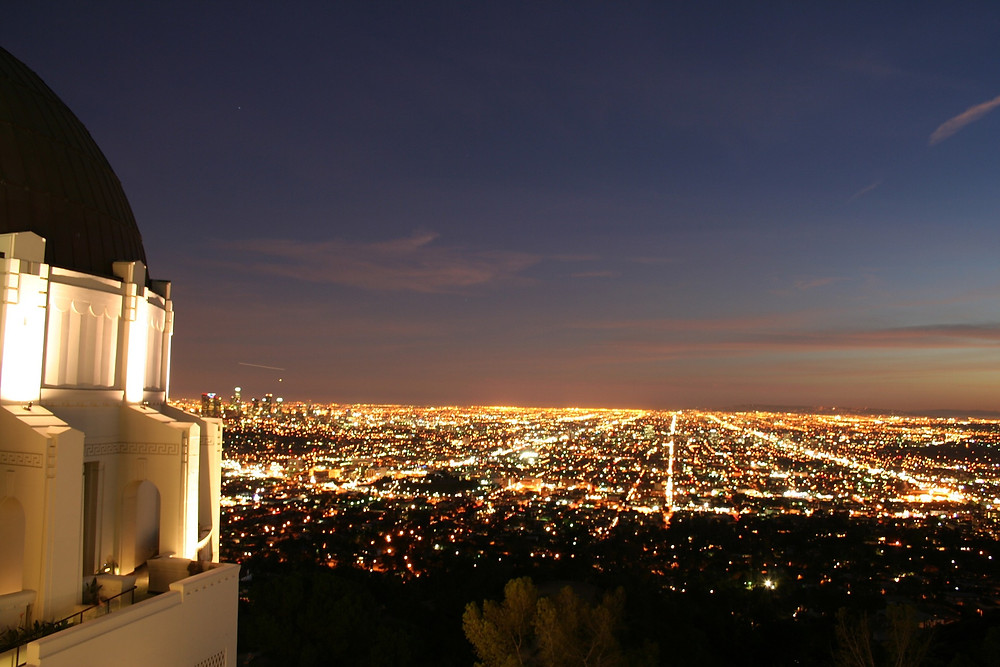 Griffith Park at Night