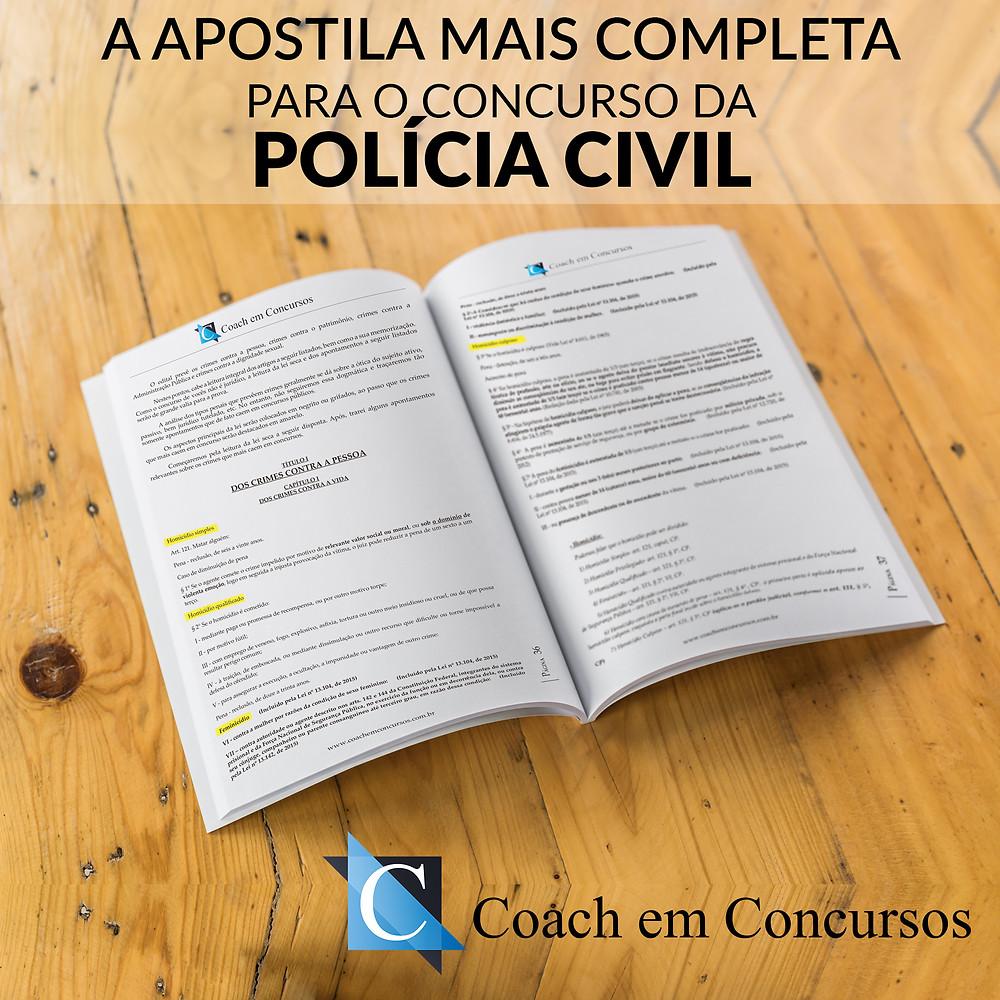 Coach em Concursos - Apostilas Polícia Civil SC