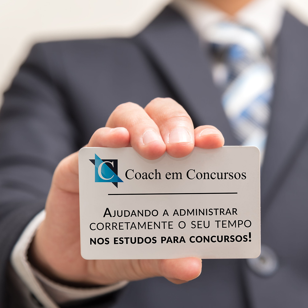 Coach em Concursos - Administrando o seu tempo