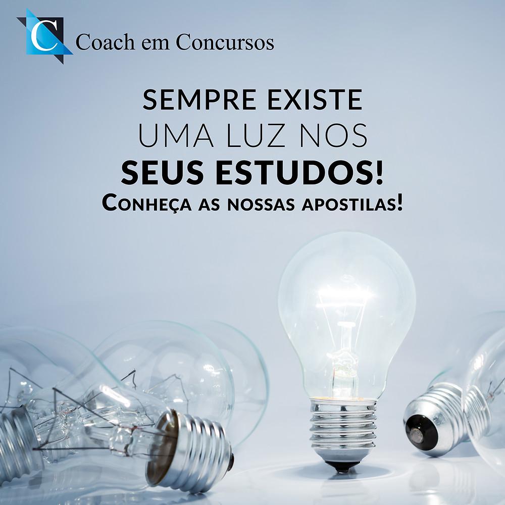 Coach em Concursos - Luz nos seus estudos
