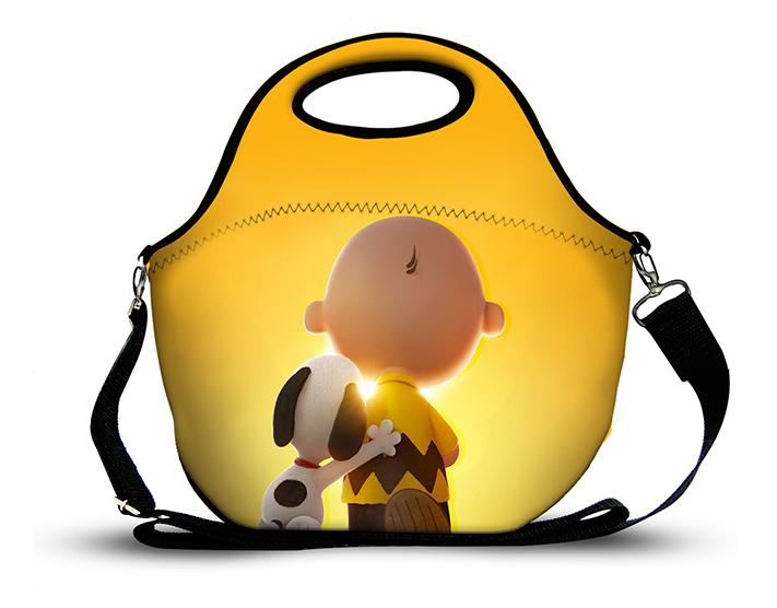Snoopy 3 -Lancheira Neoprene
