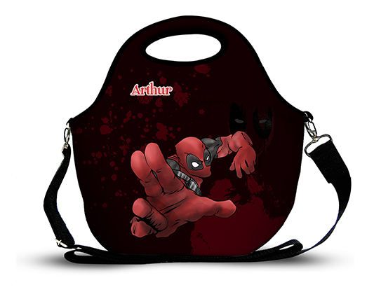 Deadpool 2- Lancheira Neoprene
