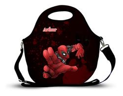 Deadpool 2- Lancheira Neoprene