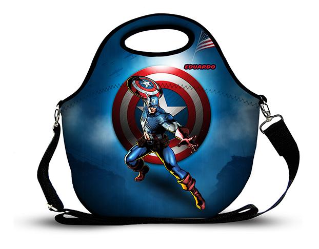 Capitão América1- Lancheira Neoprene
