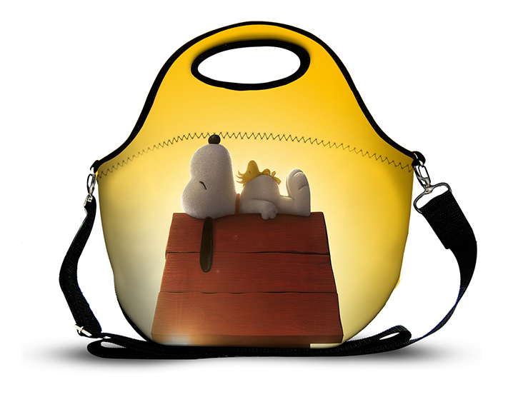 Snoopy 4 -Lancheira Neoprene