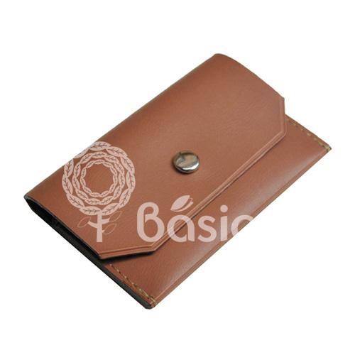 Porta Cartão Sintético Marrom