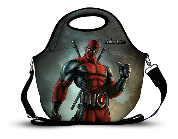 Deadpool 1- Lancheira Neoprene