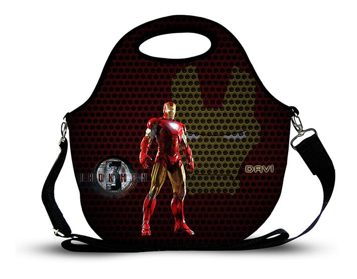 Homem de Ferro 2- Lancheira Neoprene