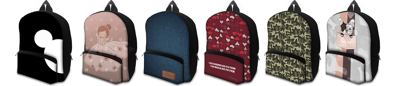 MOCHILAS - Estampas Exclusivas