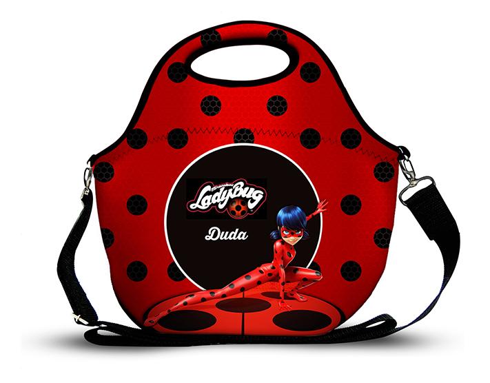 Lady Bug - Lancheira em Neoprene