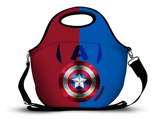 Capitão América2 -Lancheira Neoprene