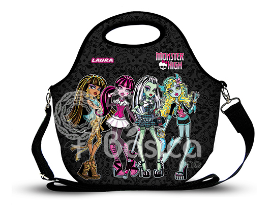 Monster High 1 -Lancheira Neoprene