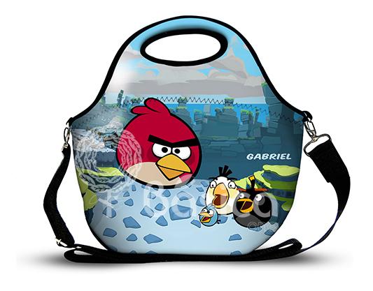 Angry Bird 4 -Lancheira Neoprene