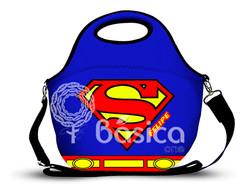 Super Homem - Lancheira em Neoprene