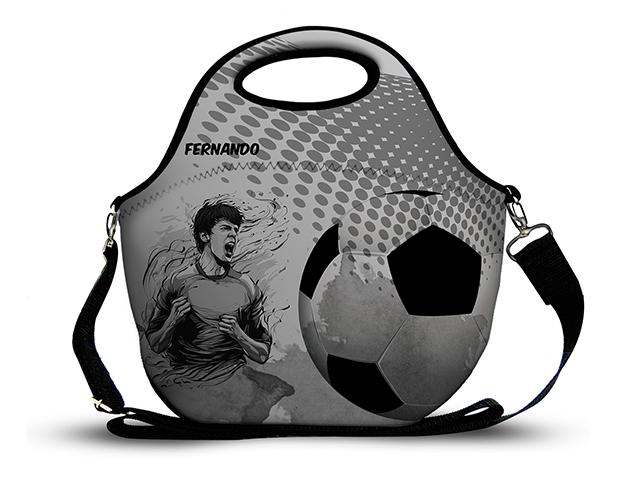 Futebol 3 - Lancheira em Neoprene