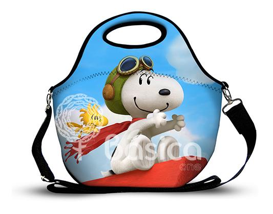 Snoopy 1 -Lancheira Neoprene