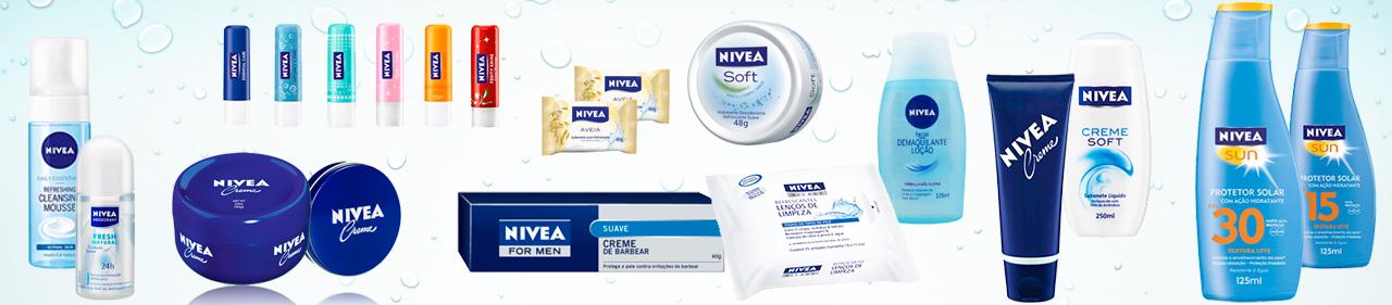 Monte seus kits com Nívea