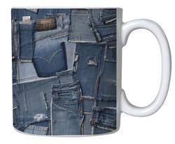 Caneca Jeans