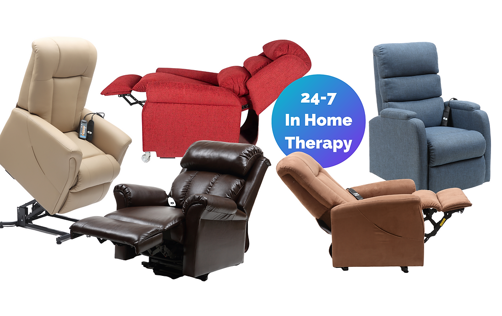 superior lifestyle offers 24-7 in home therapy with quality luxury lift recliner chairs ndis approved independence health wellbeing