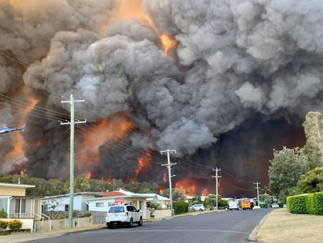 Helping vicitims of the QLD and NSW bushfires