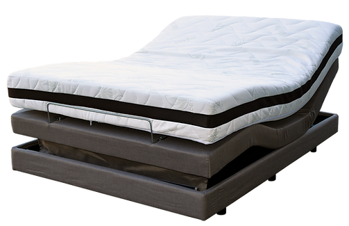 Queen Bed adjutable massage