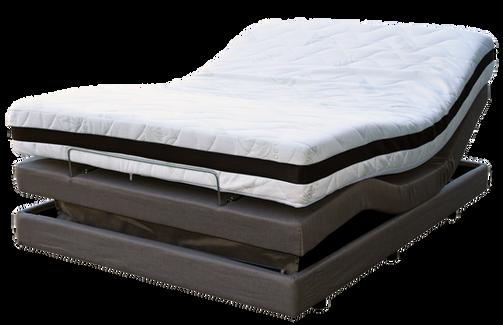Queen Bed adjutable massage