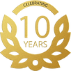 SUPERIOR ADJUSTABLE BED 10 YEARS LOGO.pn