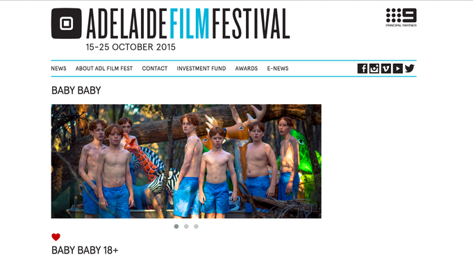 BABY BABY is screening at the Adelaide Film Festival