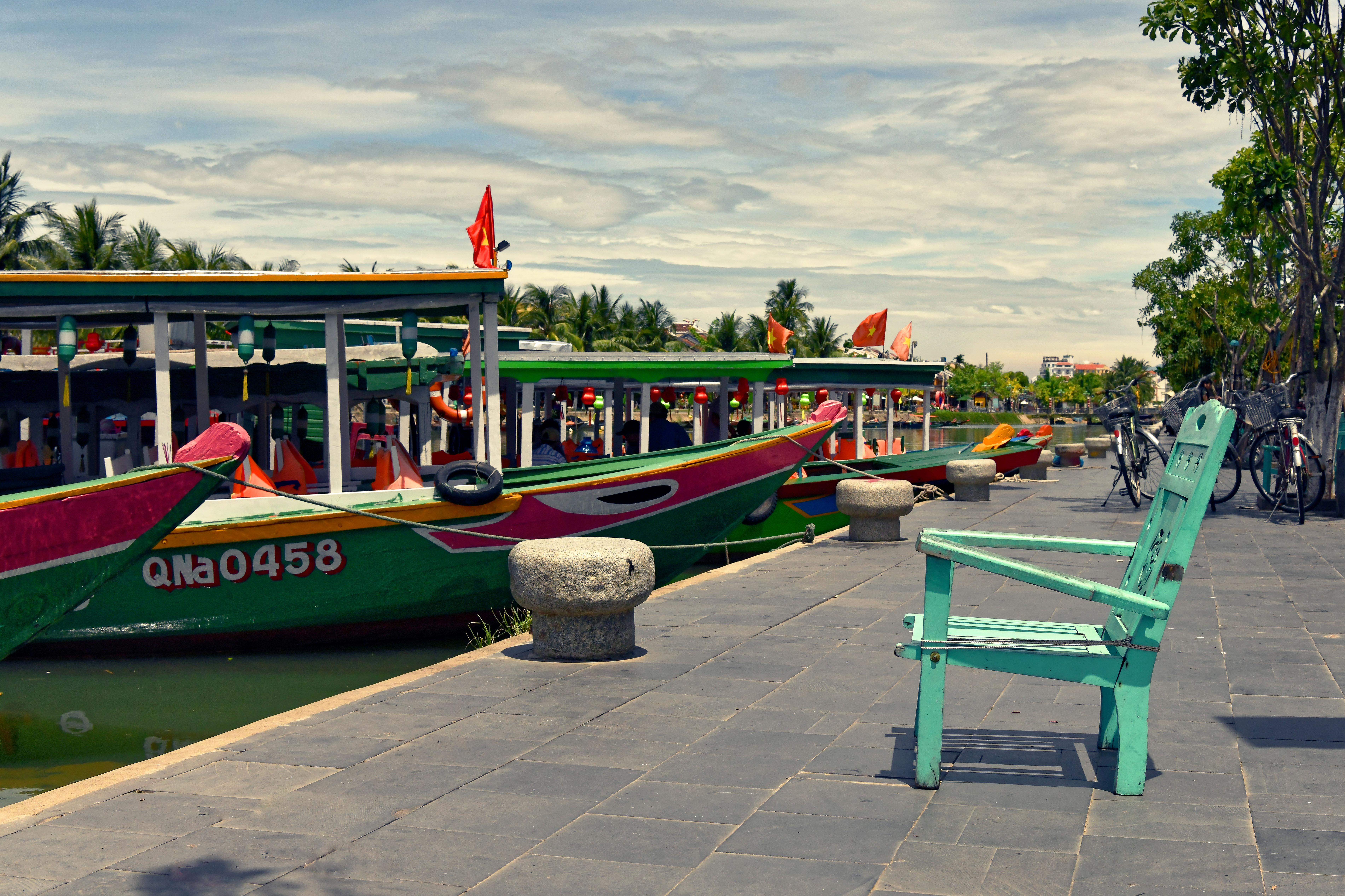 Passenger Boats Hội An ,Vietnam