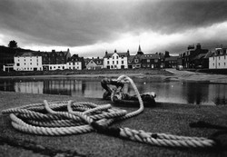 Harbour and rope (35mm film)
