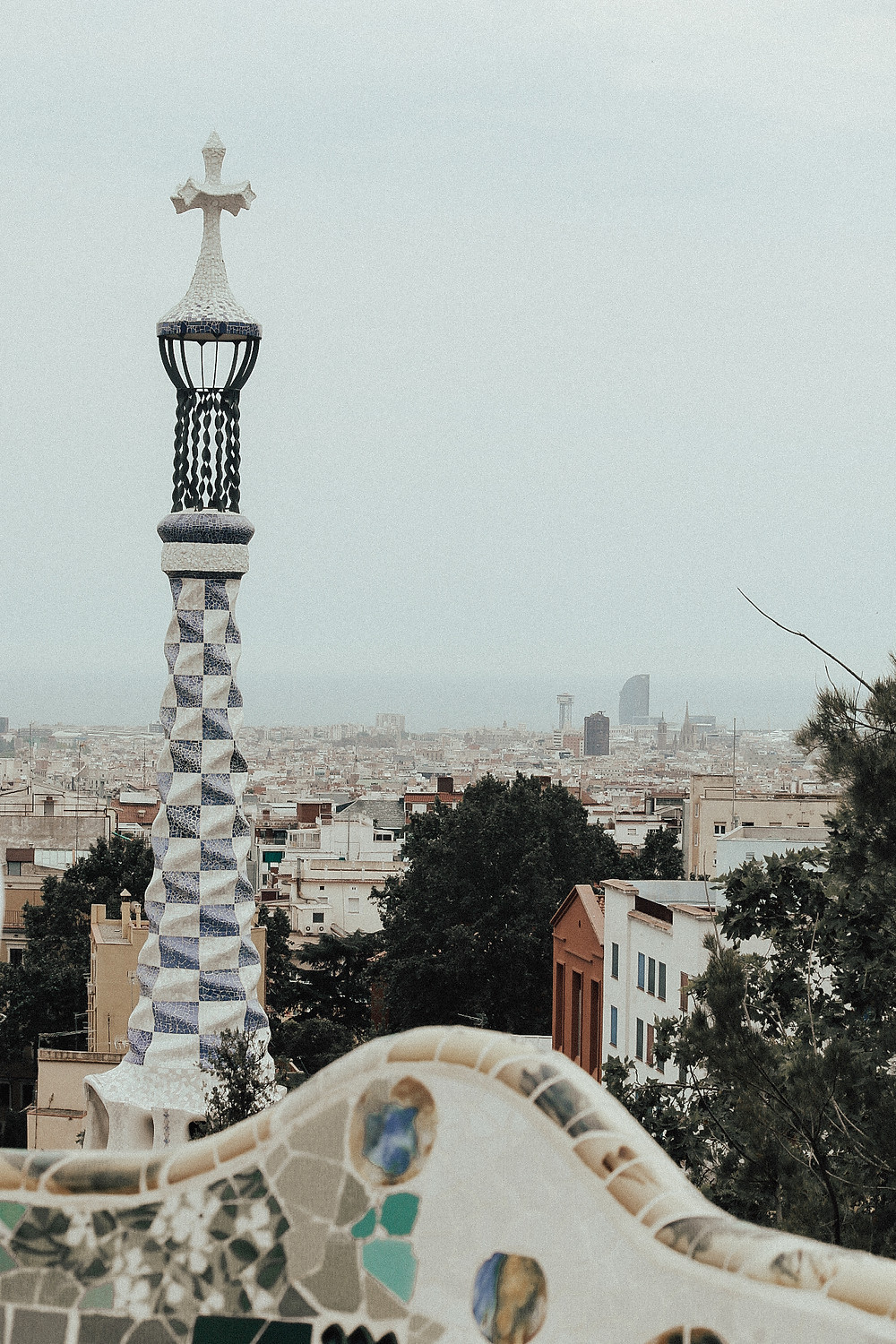 park guëll was top on my list of places to visit in barcelona.