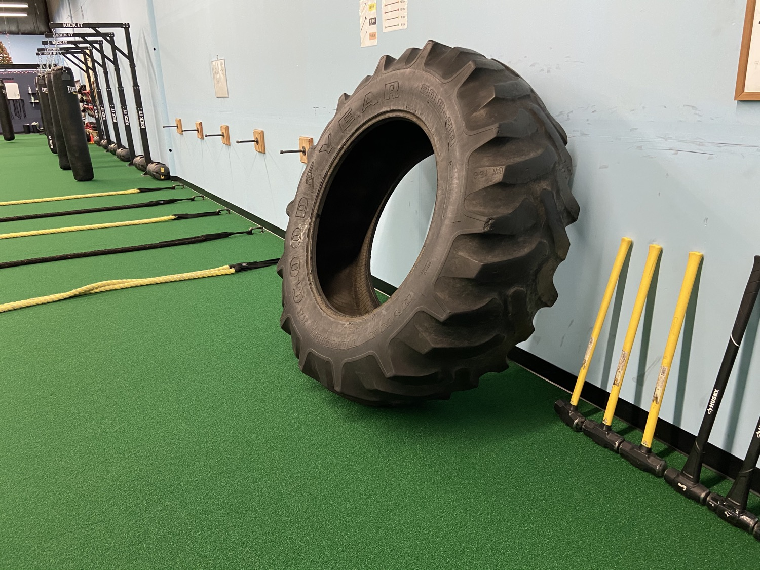 Tractor Tires-Sledge Hammers
