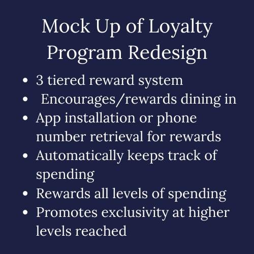 ABEC Loyalty Program Mock-Up Redesign