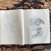 Frottage in Moleskine Plain Notebook